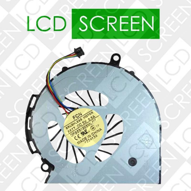 Вентилятор для ноутбука HP 15-D000 series (DFS551205ML0T), кулер