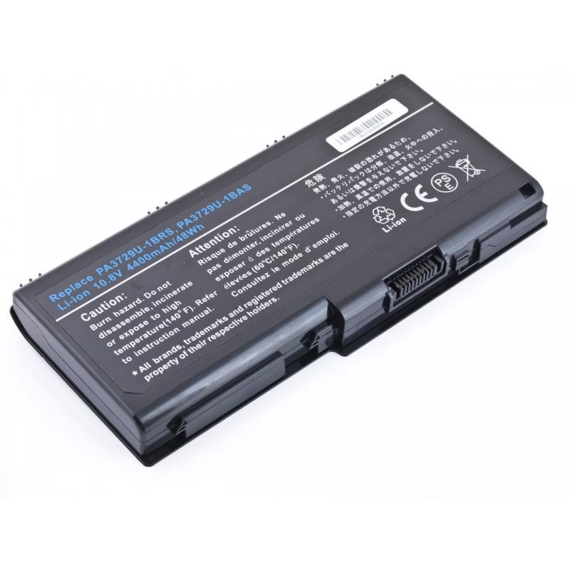 Батарея Toshiba Qosmio X500, X505, Satellite P500, P505, 10,8V, 4400mAh, Black