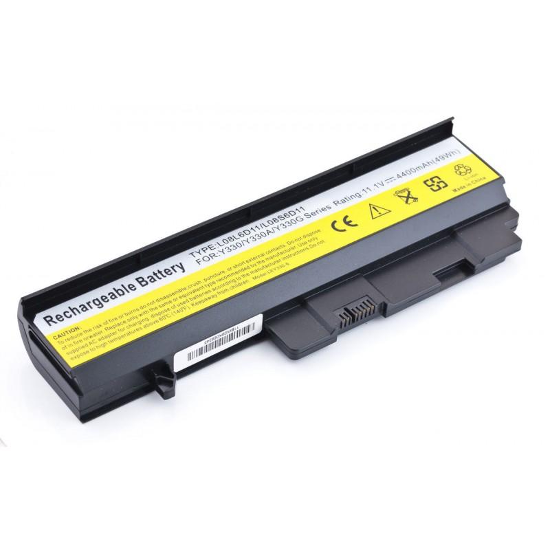 Батарея Lenovo IdeaPad U330, Y330, 10,8V, 4400mAh, Black