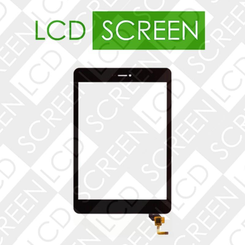 Тачскрин 7,85 Fly Flylife Connect 7.85 3G Slim 2 078038-01A-V2, черный, touch screen, сенсорный экран для планшета