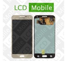 Дисплей для Samsung Galaxy E5 E500, E500H с сенсорным экраном, золотистый, модуль ( дисплей + тачскрин )