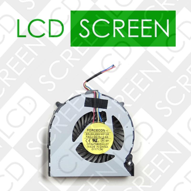 Вентилятор для ноутбука SONY VPC-EH16, EH18, EH22, EH25YC, EH26, EH35, 4pin (DFS470805WL0T), кулер