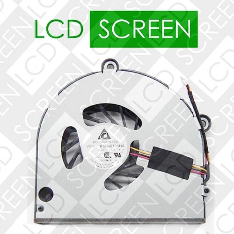 Вентилятор для ноутбука TOSHIBA Satellite P755 (DC2800091D0 / KSB06105HA -AC87 / DV 5V 0.40A), кулер