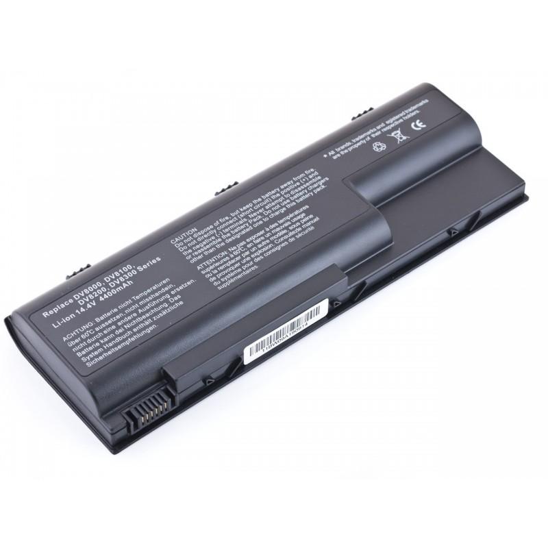 Батарея HP Pavilion DV8000, 14,4V, 4400mAh, Black