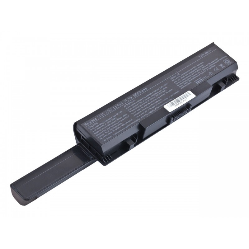 Батарея Dell Studio 1735, 1736, 1737, KM976, PW824, MT335, 11,1V 6600mAh Black