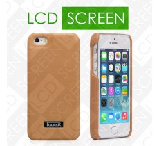 Чехол iCarer для iPhone 5/5S Luxury Brown (back cover) (RIP516)