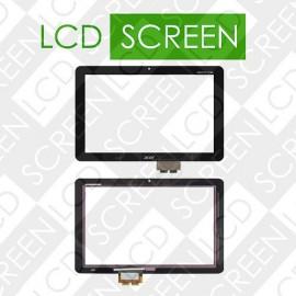 Тачскрин для планшетов Acer Iconia Tab A210, Iconia Tab A211, черный, touch screen, сенсорный экран