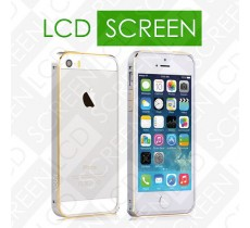 Бампер Vouni для iPhone 5/5S Buckle Color Match Silver/Gold