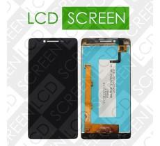 Дисплей для Lenovo A6000 с сенсорным экраном, черный, модуль ( дисплей + тачскрин )