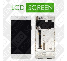 Дисплей для Lenovo S90 с сенсорным экраном, белый, модуль ( дисплей + тачскрин )