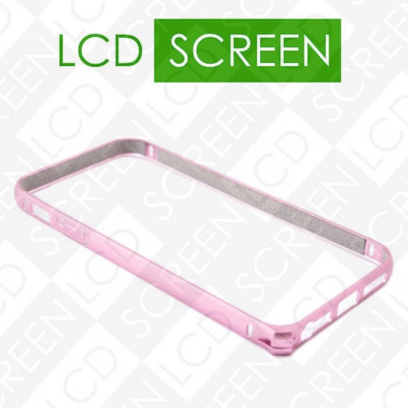 Бампер Devia для iPhone 5/5S Buckle Curve Pink