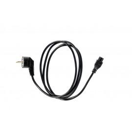Сетевой кабель для адаптера питания ноутбука, евро, клевер, 2 м