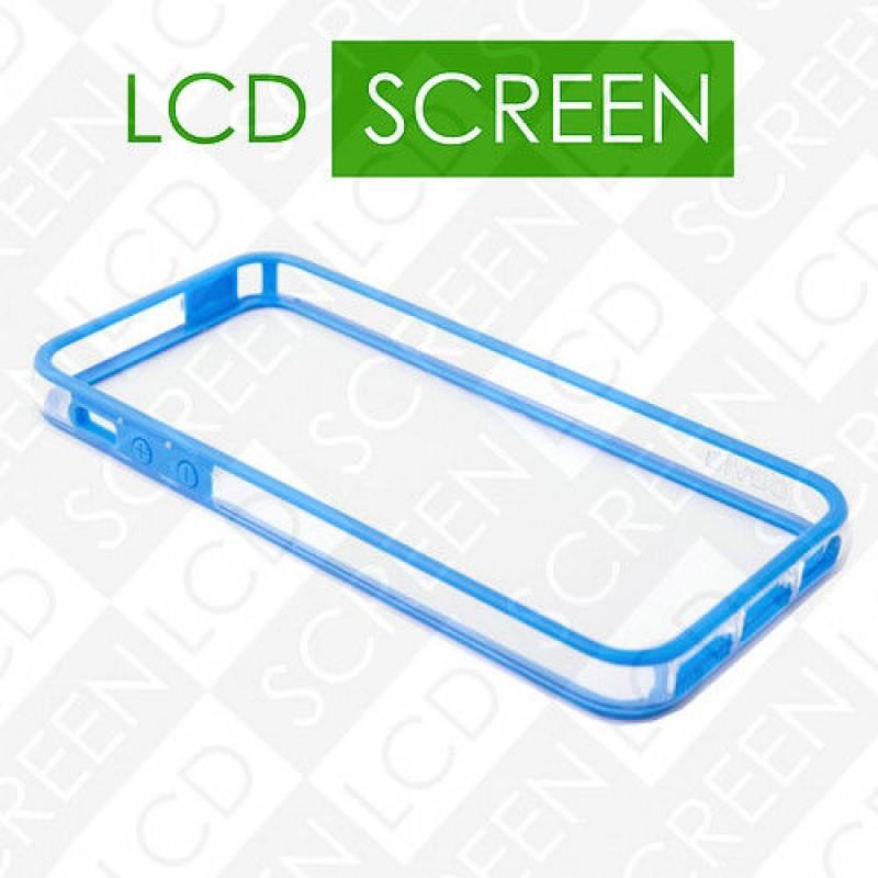 Бампер Devia для iPhone 5/5S Crystal Blue