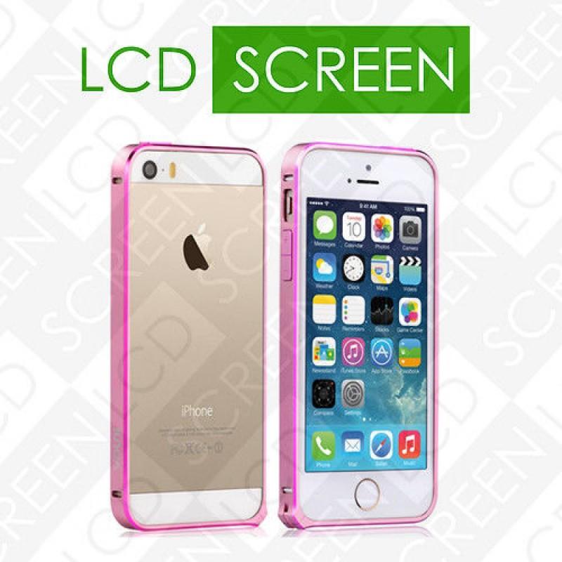 Бампер Vouni для iPhone 5/5S Buckle Color Match Pink/Rose