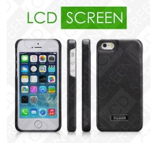 Чехол iCarer для iPhone 5/5S Luxury Black (back cover) (RIP516)