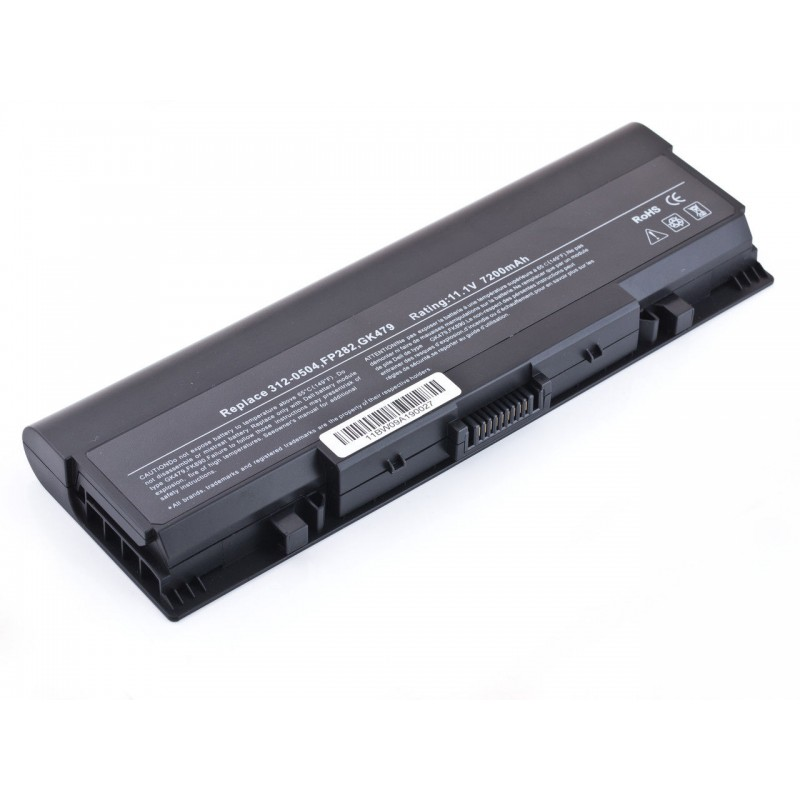 Батарея Dell Inspiron 1520, 1521, 172, 1721, 11,1V 6600mAh Black