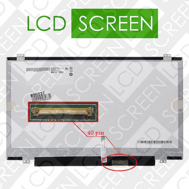 Матрица 14,0 AUO B140RW02 V.0 LED SLIM (1600*900)