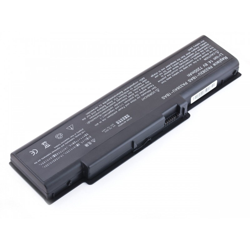 Батарея Toshiba Satellite A60, A65, 14,8V, 7200mAh, Black