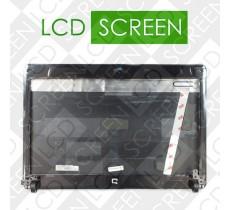 Крышка дисплея в сборе для ноутбука HP (Compaq: CQ510, CQ511, с петлями), silver, 578982-001