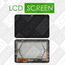 Дисплей для планшета Toshiba AT200, черный, с cенсорным экраном,