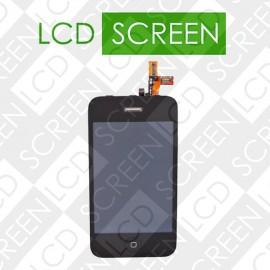 Дисплей для iPhone 3GS с сенсорным экраном, черный, модуль, дисплей + тачскрин