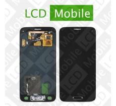 Дисплей для Samsung Galaxy S5 mini G800, G800H с сенсорным экраном, черный, модуль ( дисплей + тачскрин )