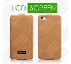 Чехол iCarer для iPhone 5/5S Luxury Brown (flip) (RIP515)