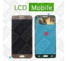Дисплей для Samsung Galaxy E5 E500, E500H с сенсорным экраном, бронзовый (коричневый), модуль ( дисплей + тачскрин )