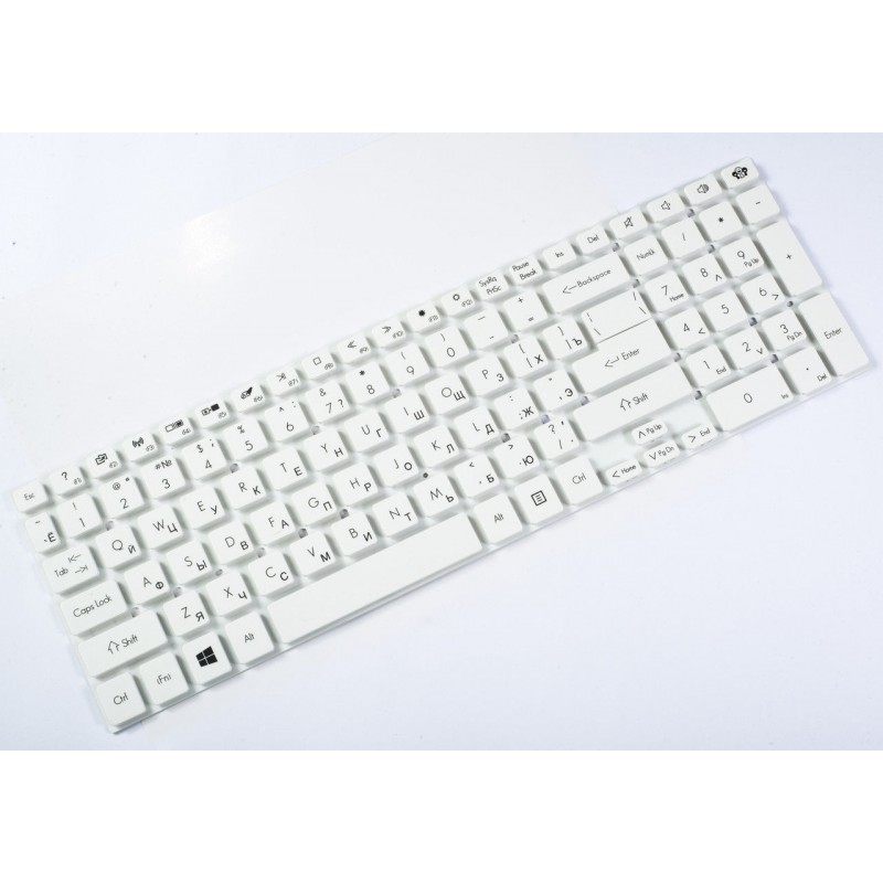 Клавиатура Geteway NV55 RU, White