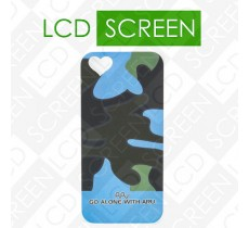 Чехол ARU для iPhone 5S Camoufladge Blue