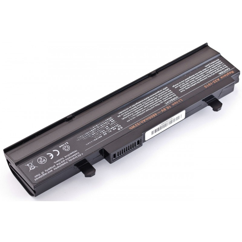Батарея Asus Eee PC 1015, 1016, 1215, 10,8V 4400mAh Black