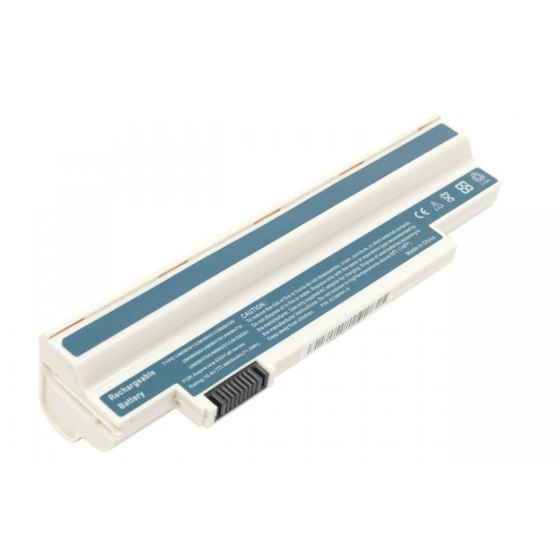 Батарея Acer Aspire One 532h, 10,8V 6600mAh White