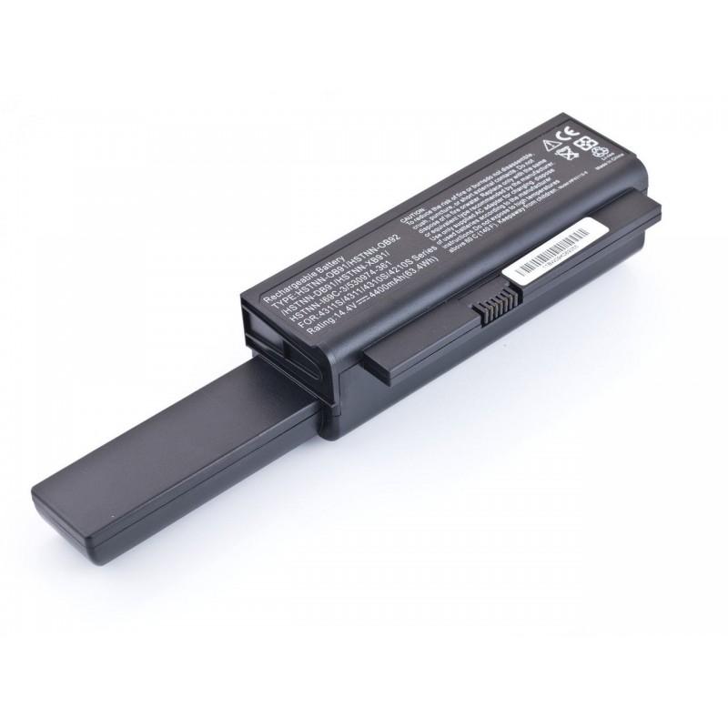Батарея HP ProBook 4210s, 4310s, 4311s, HSTNN-DB91, HSTNN-XB91, 14,4V 4800mAh Black