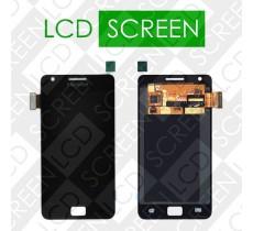 Дисплей для Samsung Galaxy S II Plus I9105 с сенсорным экраном, черный, модуль ( дисплей + тачскрин ), оригинал