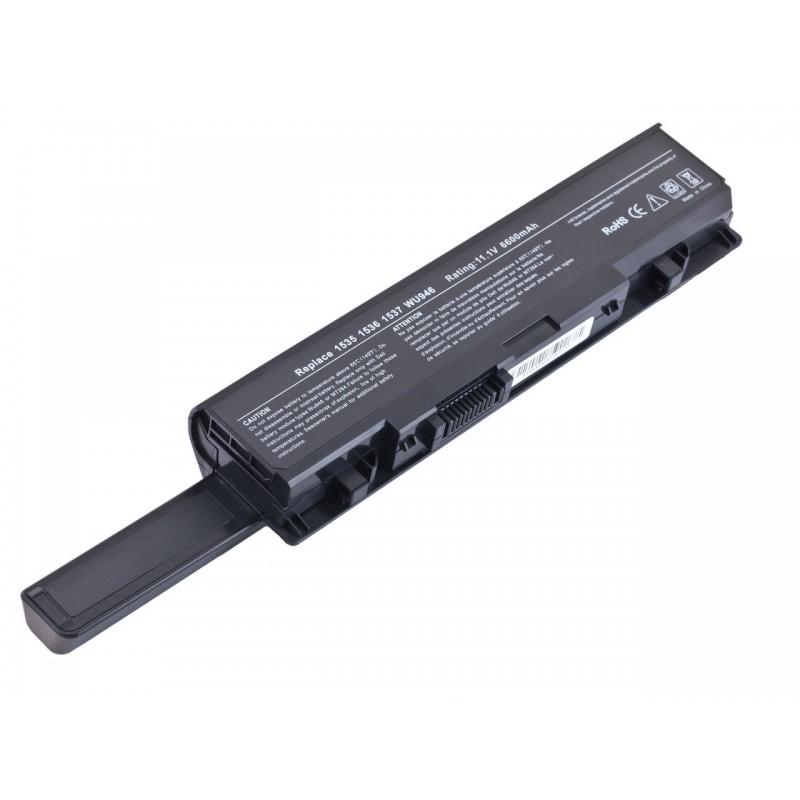 Батарея Dell Studio 1535, 1536, 1537, 1555, 11,1V 6600mAh Black