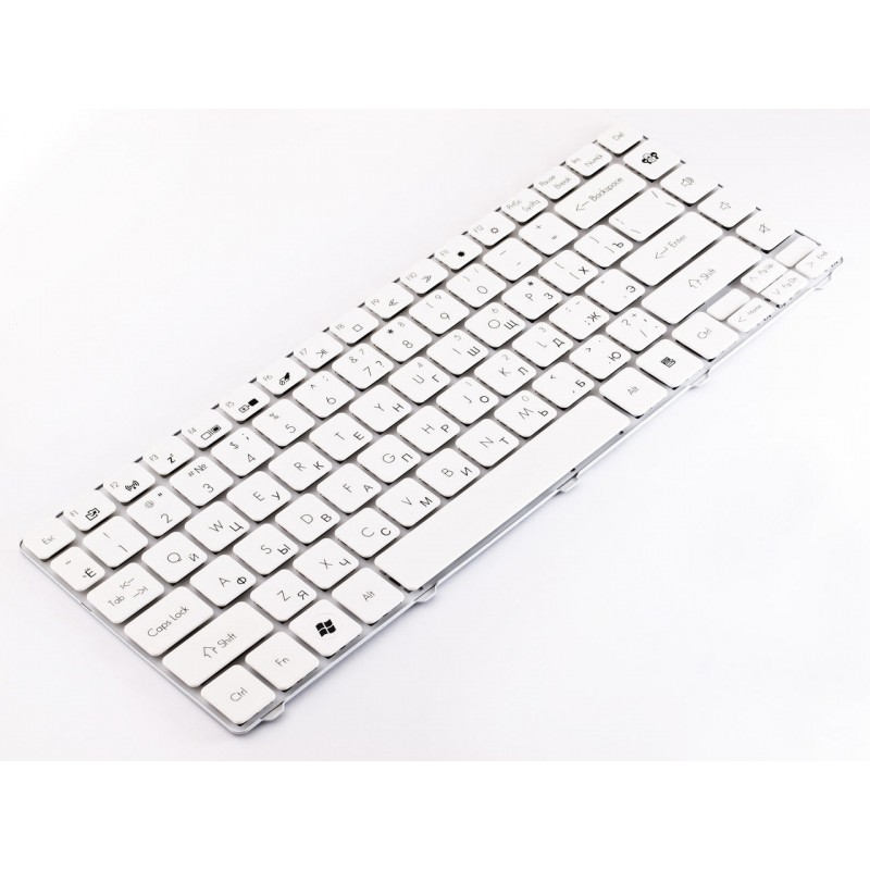 Клавиатура Gateway NV49C, Packard Bell EasyNote NM85, NM86, NM87 RU, White