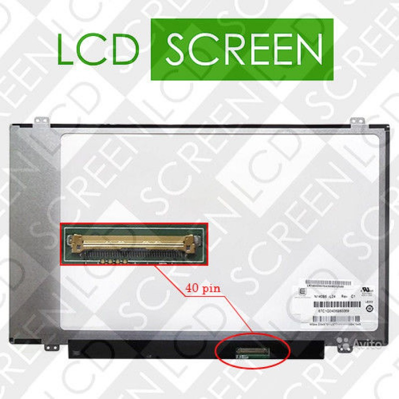 Матрица 14,0 CHIMEI N140B6 L24 LED SLIM
