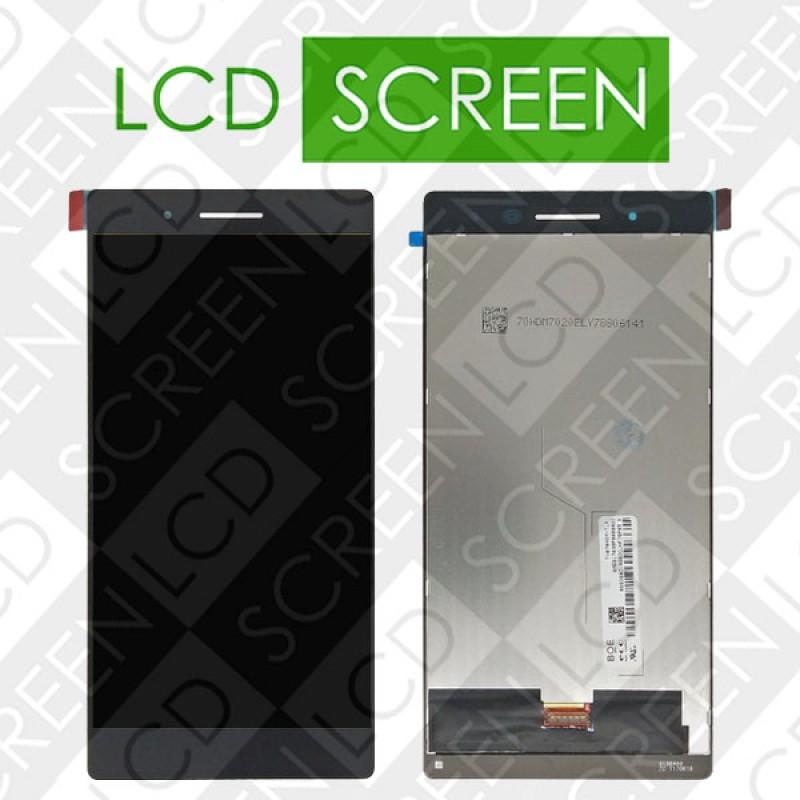 Модуль для планшета Lenovo Tab4 7 Essential TB-7304i, черный, дисплей + тачскрин