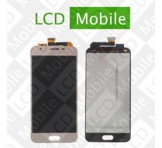 Дисплей для Samsung Galaxy J5 Prime G570, G570F с сенсорным экраном, золотистый, модуль ( дисплей + тачскрин )