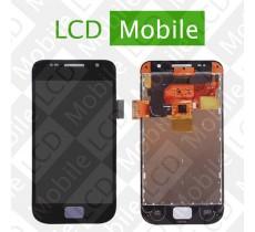 Дисплей для Samsung I9003 с сенсорным экраном, черный, модуль ( дисплей + тачскрин )