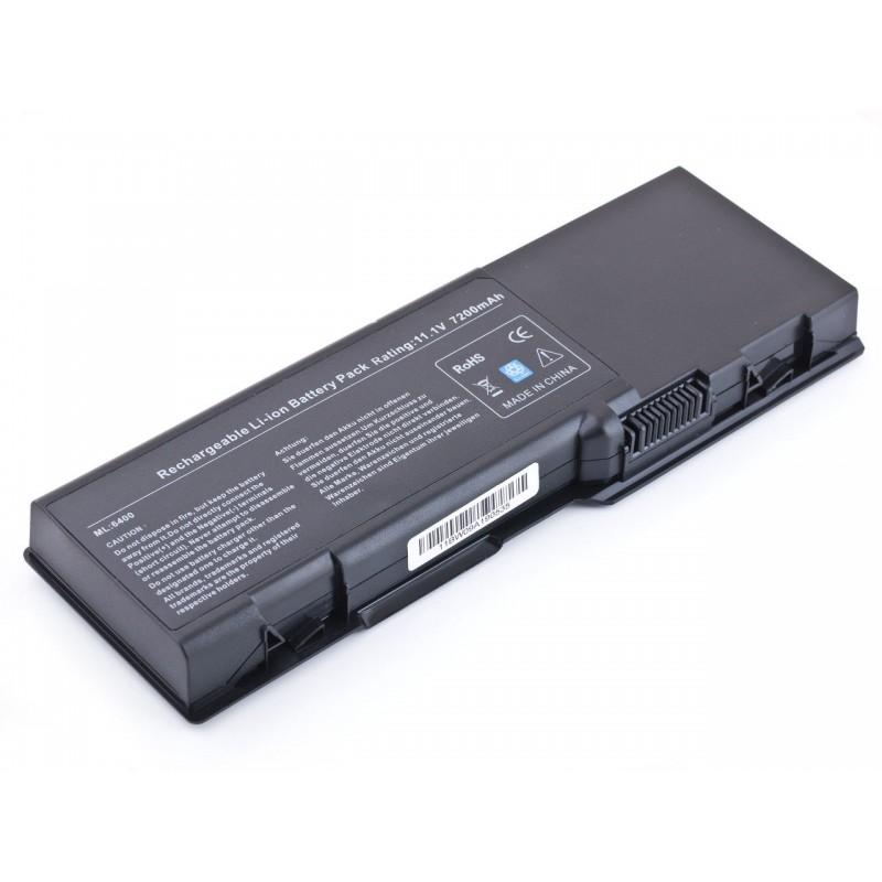 Батарея Dell Inspiron 1501, 6400, E1505, Latitude 131L, Vostro 1000, 11,1V 6600mAh Black