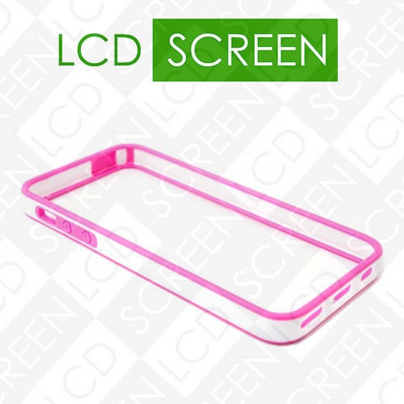 Бампер Devia для iPhone 5/5S Crystal Pink