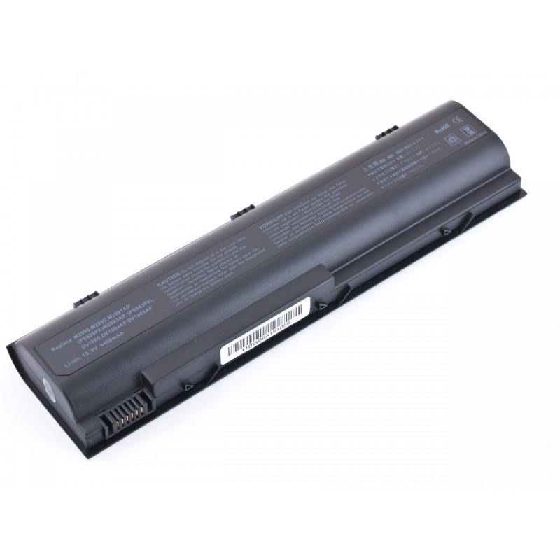 Батарея HP Pavilion DV1000, DV4000, Presario C300, C500, V2000, 10,8V 4400mAh Black