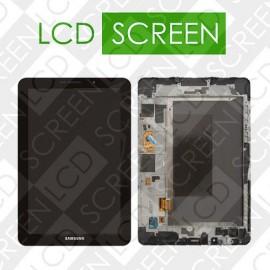 Модуль для планшета Samsung P6800 Galaxy Tab, черный, дисплей + тачскрин