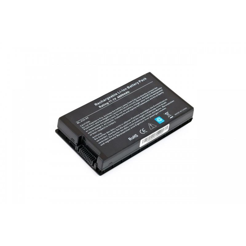 Батарея Asus A8, A8000, F50, F8, F80, N80, Z99, X60, X61, A32-A8, 11,1V 4400mAh Black