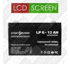 Аккумулятор LP 6-12 AH