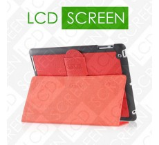 Чехол iCarer для iPad 2/3/4 Genuine Leather Red (RID202)