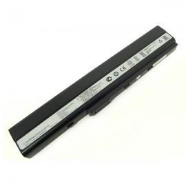 Батарея Asus K52 series: k52f, k52f-a1, k52f-sx051v, k52f-sx065x, k52f-sx074v, k52jr, k52jr-a1, k52jr-x2, k52jr-x4, k52jr-x5, 10,8V 4400mAh Black
