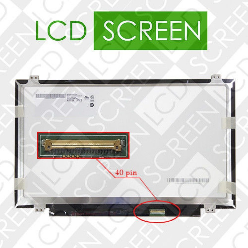 Матрица 14,0  AUO B140XW02 V.1 LED SLIM