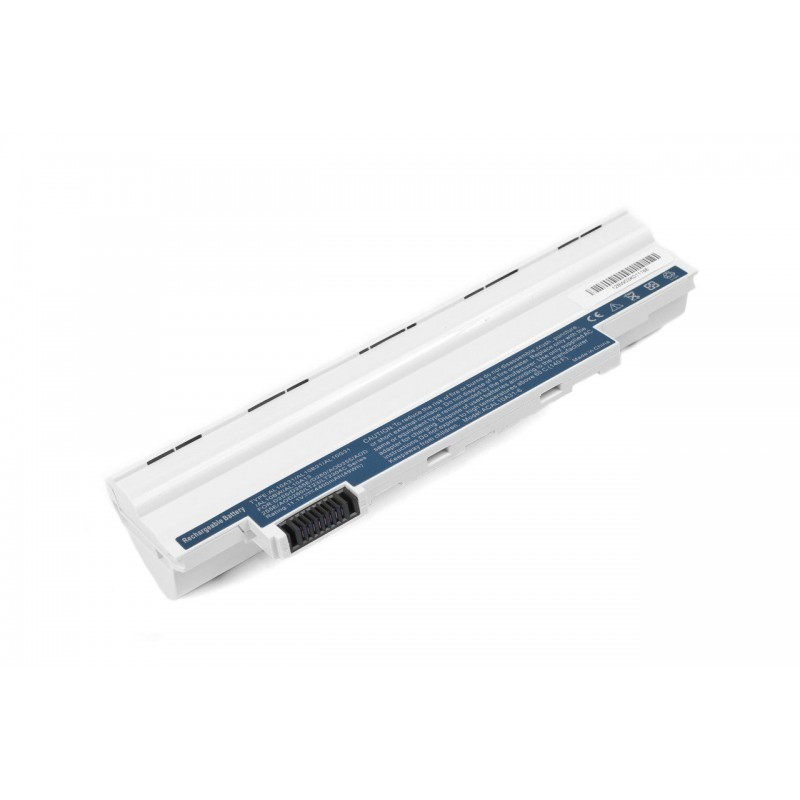 Батарея Acer Aspire One D255, D260 10,8V 4400mAh White